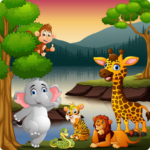 animal sounds and puzzles