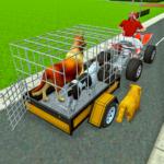 atv bike trolley animal transport simulator