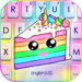 colorful cute cake keyboard theme