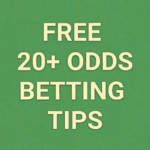 free 20 odds betting tips