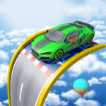 mega ramp stunts car games new car stunts games