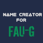 name creator for fau g