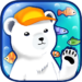 polar bear pois fishing